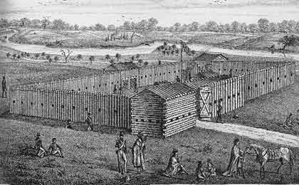 Picture of Fort Stephenson, War of 1812 cc Sandsusky County Scrapbook