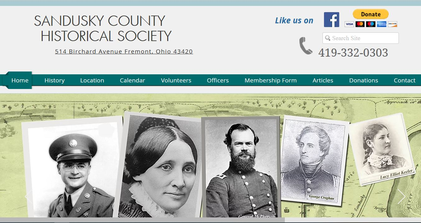 Picture of Sandusky County Historical Society Homepage